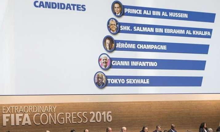 fifa to elect president today jordan bahrain princes