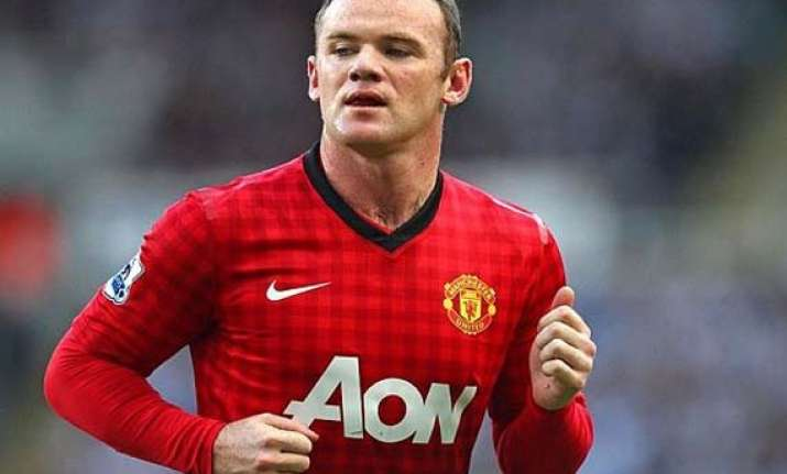 falcao out of manchester derby rooney fit