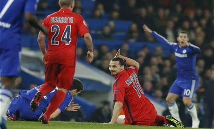 uefa bans ibrahimovic for 1 match psg teammate aurier for 3