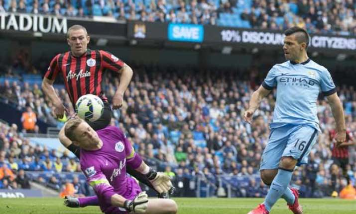 qpr relegated from premier league after 6 0 loss at man city