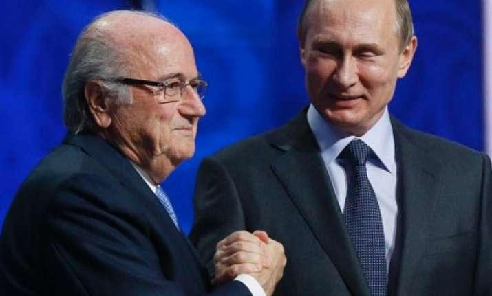 fifa s president blatter deserves nobel prize says vladimir
