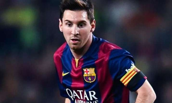 lionel messi leads barcelona to spanish soccer title