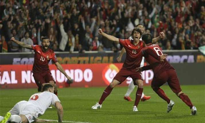portugal beats serbia 2 1 in euro 2016 qualifier