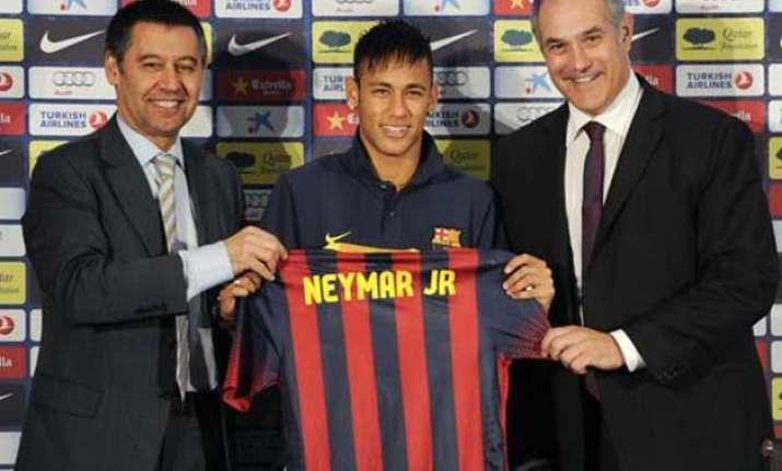 barcelona presidents indicted for fraud in neymar signing