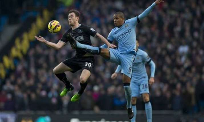 man city collapses to draw 2 2 with burnley in epl
