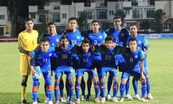 indian football team drops to worst ever fifa ranking of 171