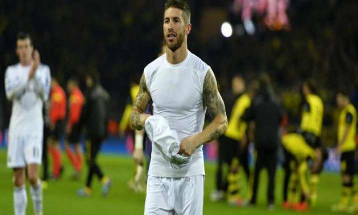 real madrid defender ramos laments missed chances