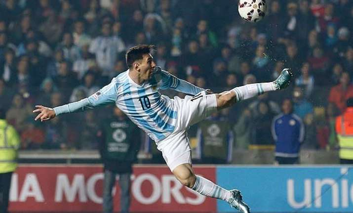 copa america lionel messi argentina shining together closer