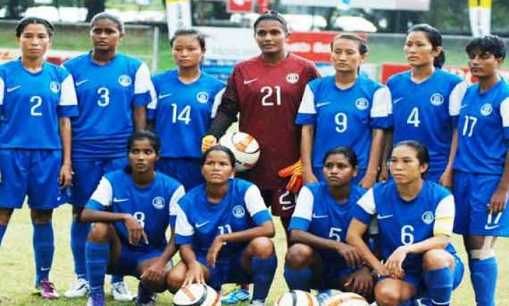 indian women s football team to play matches in china ahead