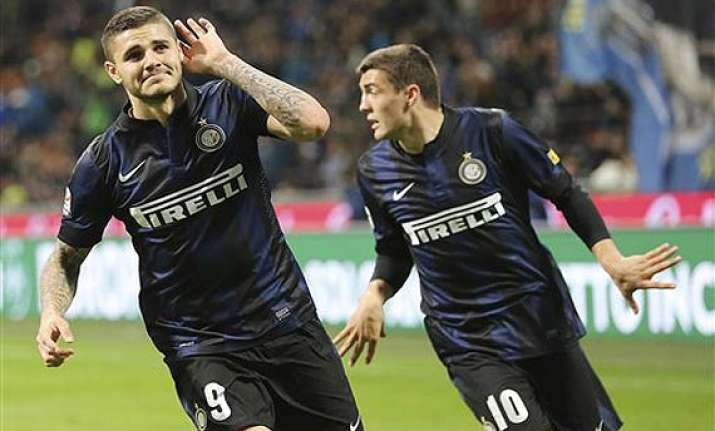 inter milan draws 2 2 at home to bologna in serie a