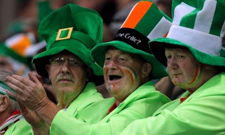 ireland fans earn uefa award at euro 2012