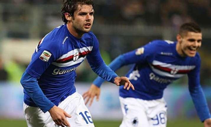 italian serie a sampdoria beat genoa