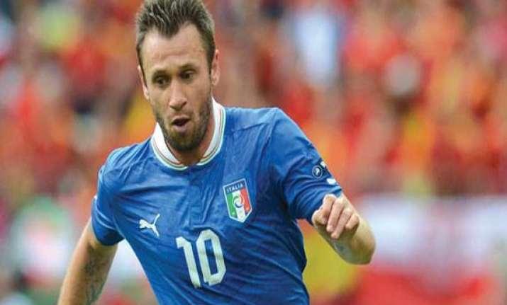italy coach prandelli considers cassano wc call up