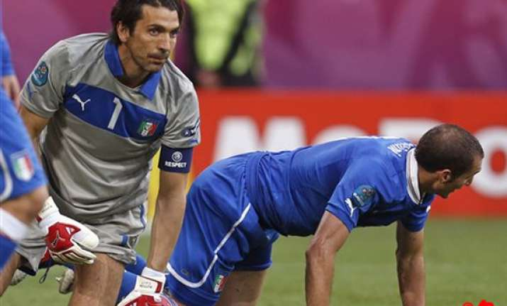 italy s fate rests at feet of spain and croatia
