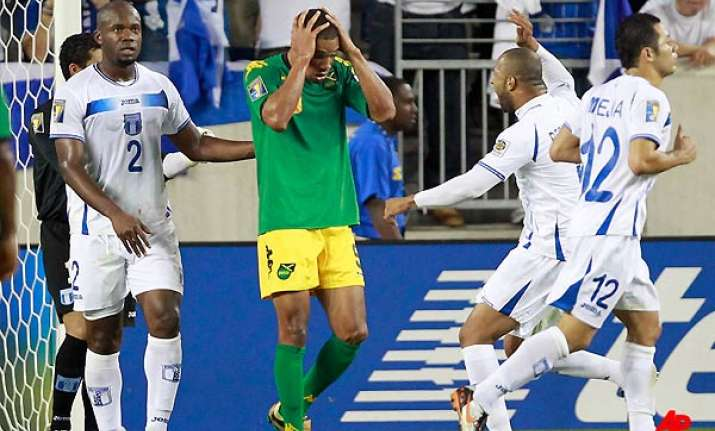 jamaica honduras guatemala advance at gold cup