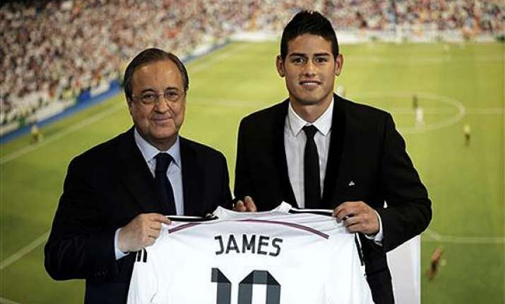 james rodriguez signs 6 year deal with real madrid