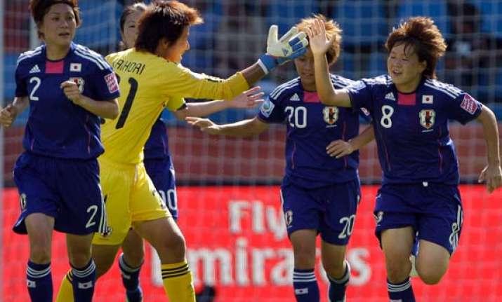 japan beats new zealand in women s world cup