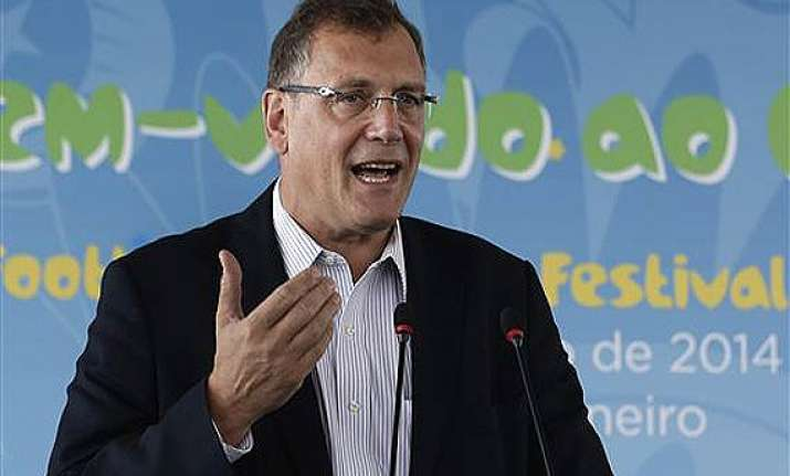 jerome valcke there s no time to relax until world cup