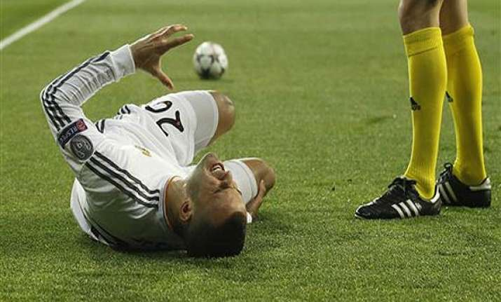 jese rodriguez injury a big blow for madrid.