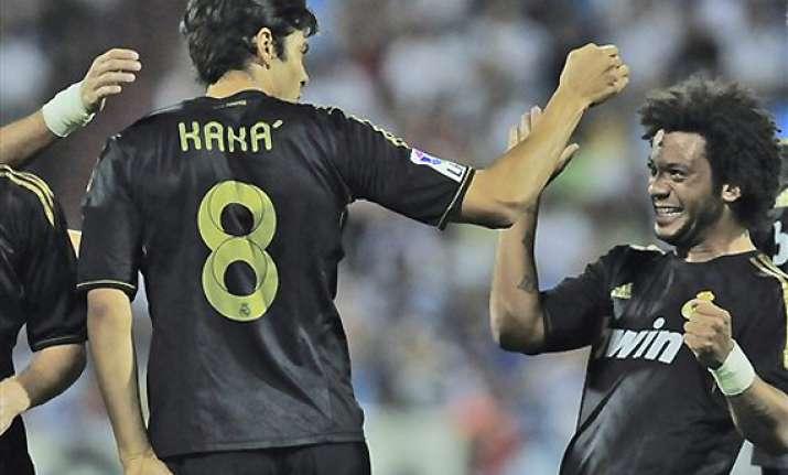 kaka dismisses talk of leaving real madrid