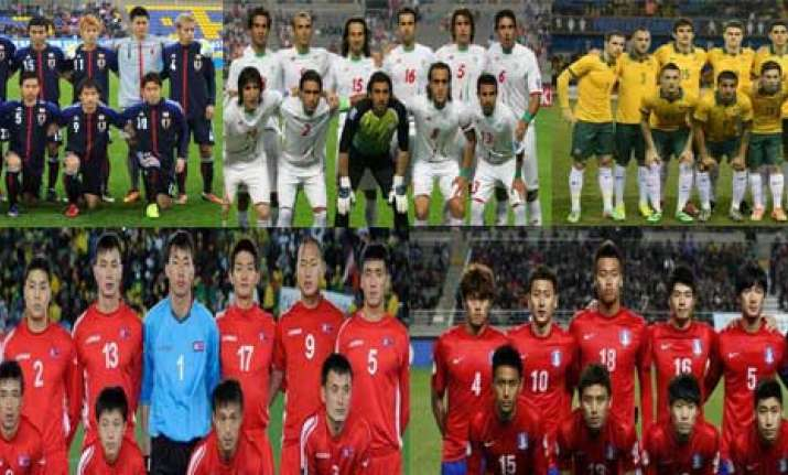know five asian teams who have done well at the fifa world