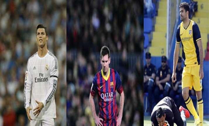 la liga atletico madrid barcelona real madrid locked in