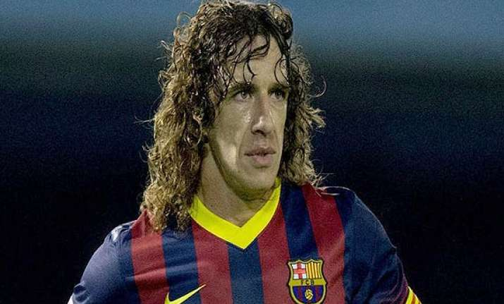 la liga barcelona loses puyol to injury for bilbao game