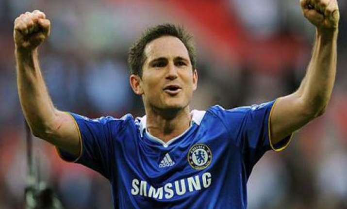 lampard named england s vice captain