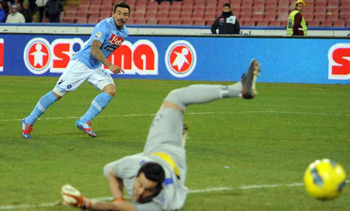 lavezzi gives napoli 1 0 win over inter in serie a