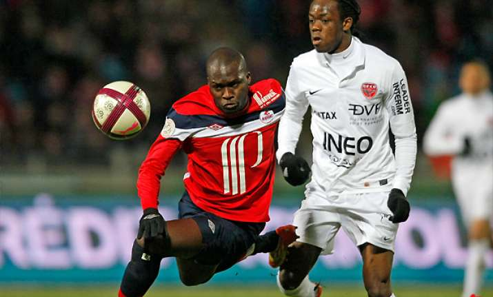 lille beats dijon 2 0 in french league