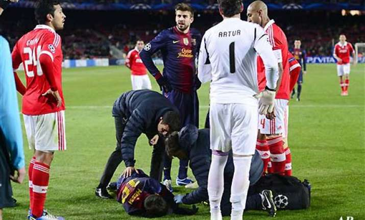 lionel messi s knee injury very serious