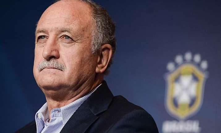 luiz felipe scolari says protests could hurt brazil s