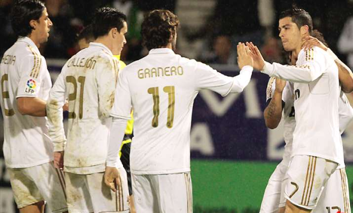 madrid beats third tier ponferradina 2 0 in copa