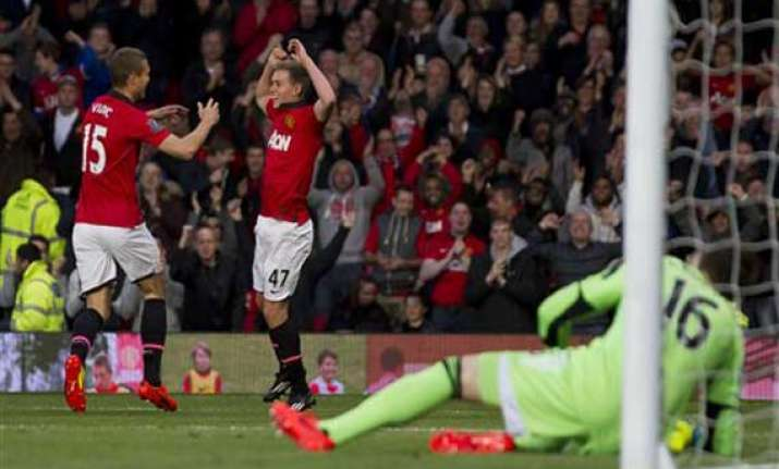 man united beats hull 3 1 helped by wilson double