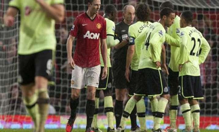 man united beats newcastle 4 3 with late winner