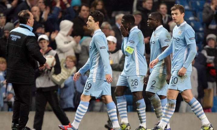 manchester city exits europa league despite 3 2 win
