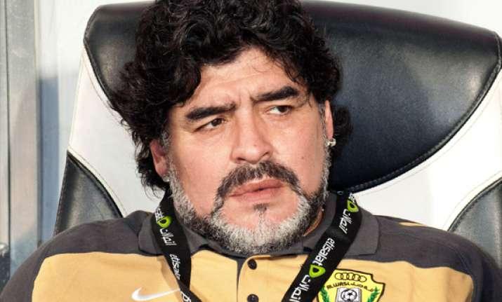 maradona cleared to leave hospital