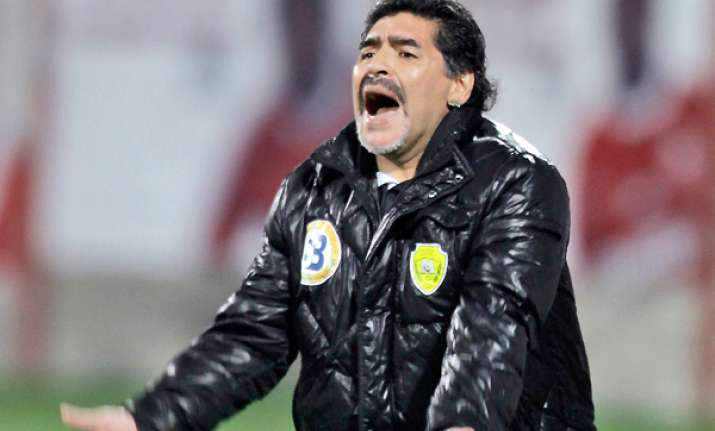 maradona threatens to leave al wasl after season