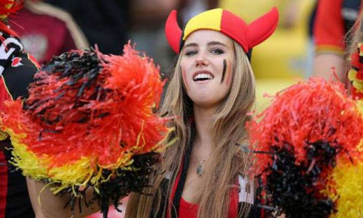 meet axelle despiegelaere a belgian blonde whose cheering