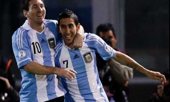 messi is the best in the world di maria