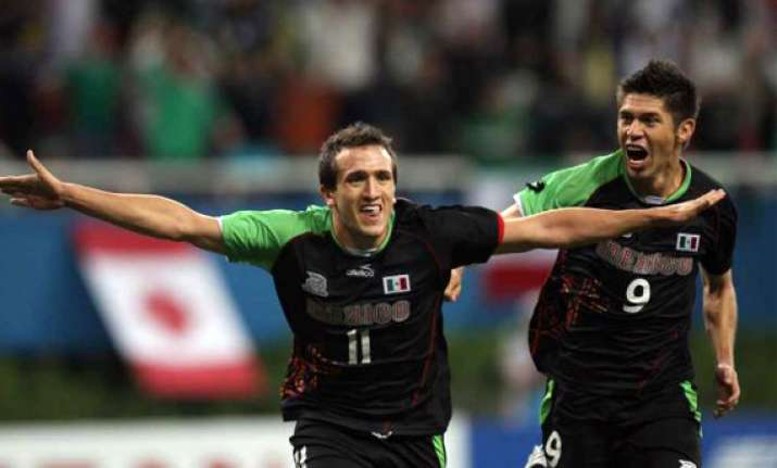 mexico beats argentina to win men s football gold