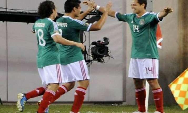 mexico beats honduras enters gold cup final