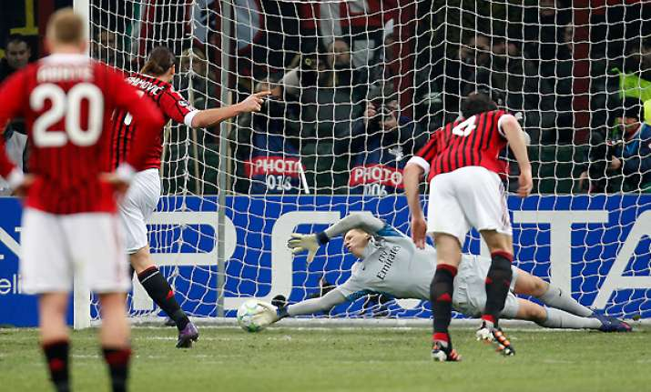 milan routs arsenal 4 0 in champions league