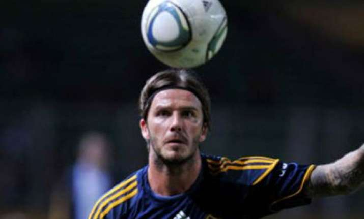 mixed reception for beckham in indonesia