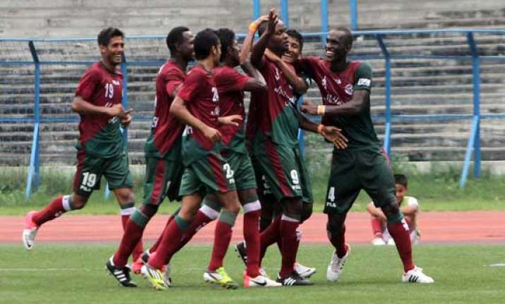 mohammedan sporting hold mohun bagan to goal less draw
