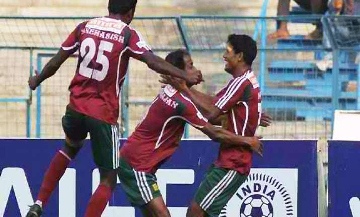 mohun bagan holds east bengal to 1 1 draw