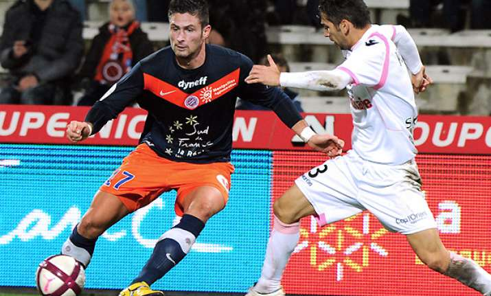 montpellier routs lorient 4 0 in french league