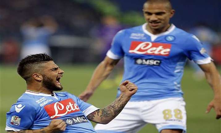 napoli wins violence marred italian cup final against