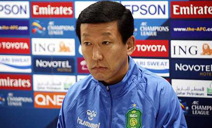 new skorea coach less than thrilled about new job