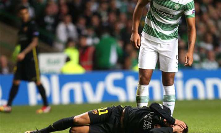 neymar earns wrath of celtic park